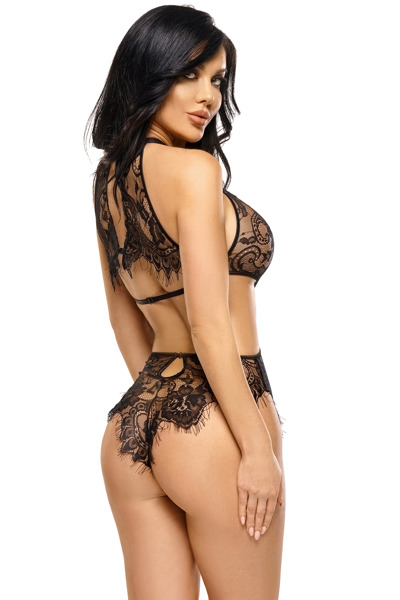 Jordana teddy black