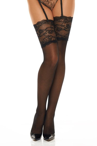 Romance black - stockings