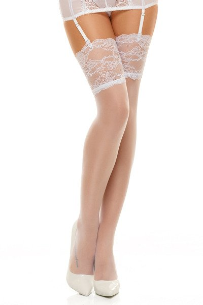 Romance white - stockings