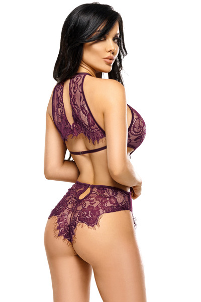 Jordana teddy purple